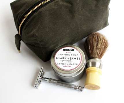 Clark & James Travel Shaving Kit